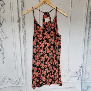 Privacy Please Floral Mini/Tunic Dress Size Small